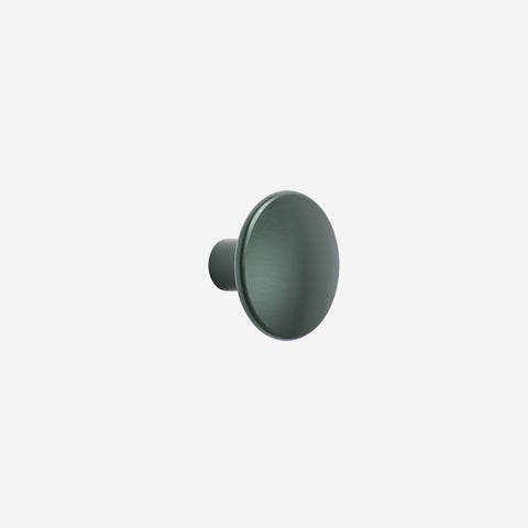 SIMPLE FORM. - Muuto - Dot Hook Metal Green Medium by Muuto - Hook