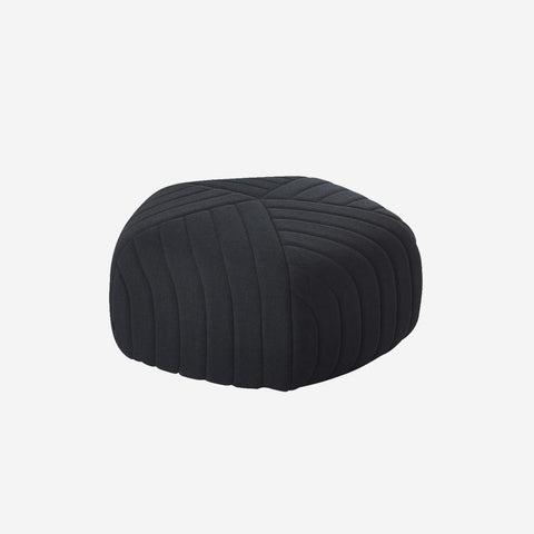 Muuto - Five Pouf Large Charcoal by Muuto - Pouf  SIMPLE FORM.