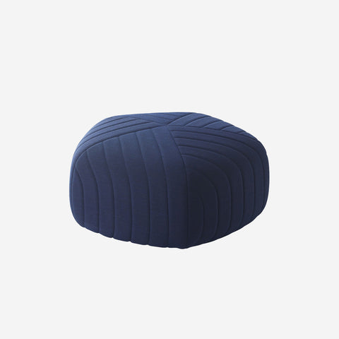 SIMPLE FORM. - Muuto - Five Pouf Large Midnight Blue By Muuto - Pouf