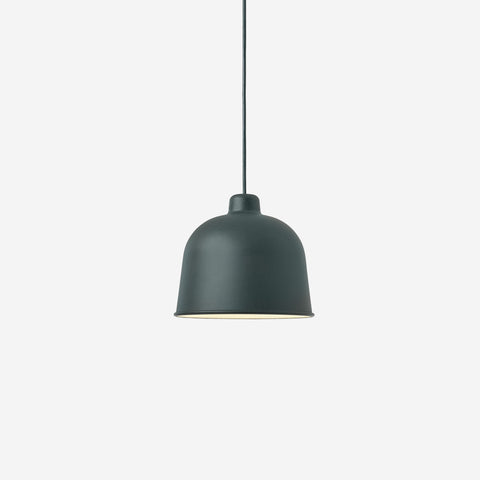SIMPLE FORM. - Muuto - Grain Pendant Lamp Dark Green by Muuto - Lighting