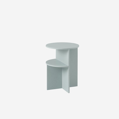 SIMPLE FORM. - Muuto - Halves Side Table Sage Green by Muuto - Table