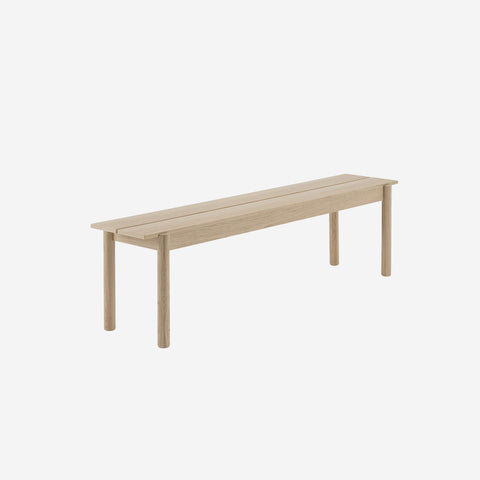 SIMPLE FORM. - Muuto - Linear Wood Oak Bench 170cm by Muuto - Bench