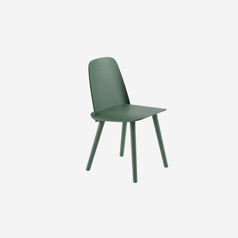 SIMPLE FORM. - Muuto - Nerd Chair Green by Muuto - Stool