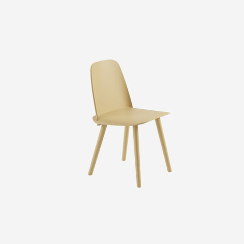 SIMPLE FORM. - Muuto - Nerd Chair Sand Yellow by Muuto - Stool