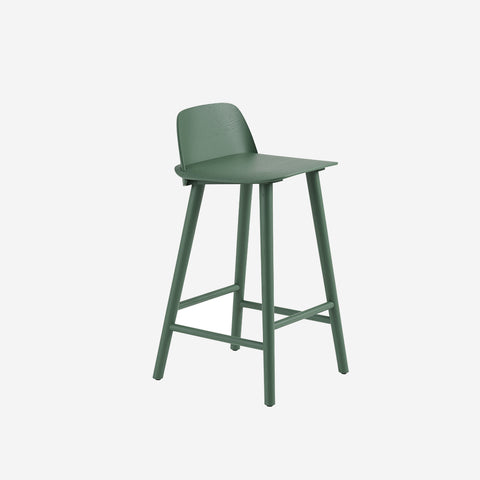 SIMPLE FORM. - Muuto - Nerd Counter Stool Green by Muuto - Stool