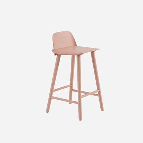 SIMPLE FORM. - Muuto - Nerd Counter Stool Rose by Muuto - Stool