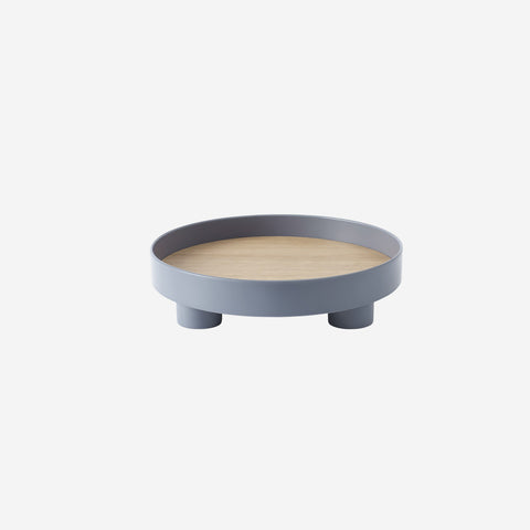 SIMPLE FORM. - Muuto - Platform Tray Blue Grey by Muuto - Table