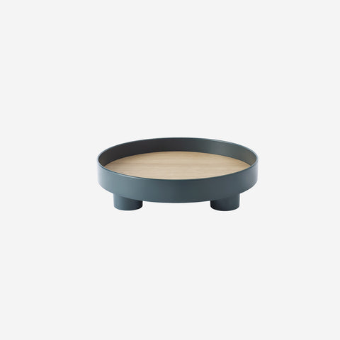 SIMPLE FORM. - Muuto - Platform Tray Dark Green by Muuto - Table