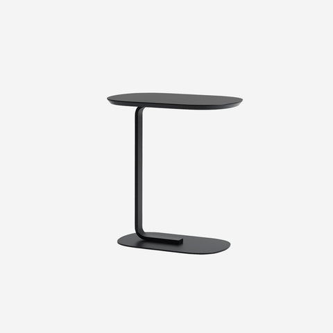 SIMPLE FORM. - Muuto - Relate Side Table Black by Muuto - Table