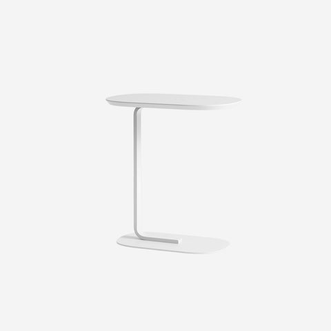 SIMPLE FORM. - Muuto - Relate Side Table Off-White by Muuto - Table