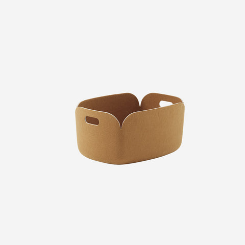 SIMPLE FORM. - Muuto - Restore Basket Burnt Orange By Muuto - Basket