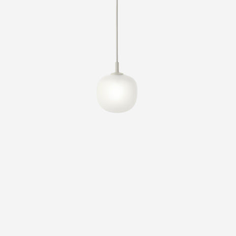SIMPLE FORM. - Muuto - Rime Pendant Ø12cm Grey by Muuto - Pendant