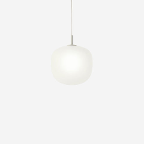 SIMPLE FORM. - Muuto - Rime Pendant Ø25cm Grey by Muuto - Pendant