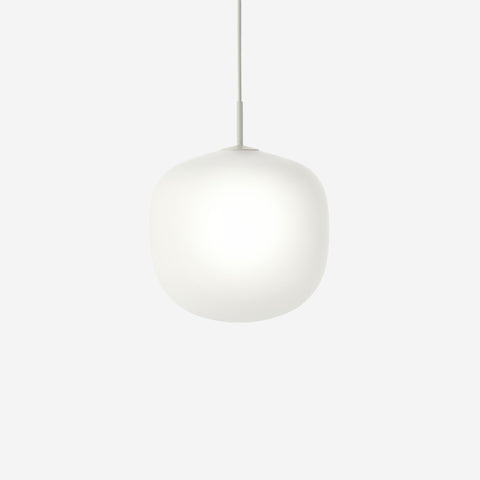 SIMPLE FORM. - Muuto - Rime Pendant Ø37cm Grey by Muuto - Pendant