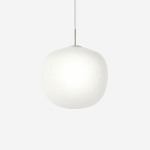 SIMPLE FORM. - Muuto - Rime Pendant Ø45cm Grey by Muuto - Pendant