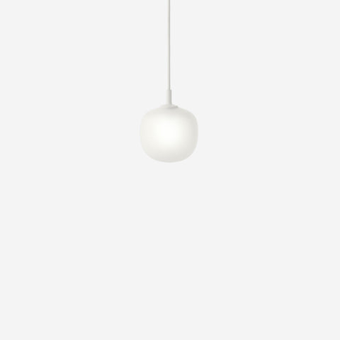 SIMPLE FORM. - Muuto - Rime Pendant Ø12cm White by Muuto - Pendant