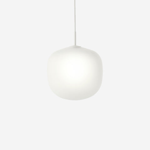 SIMPLE FORM. - Muuto - Rime Pendant Ø37cm White by Muuto - Pendant