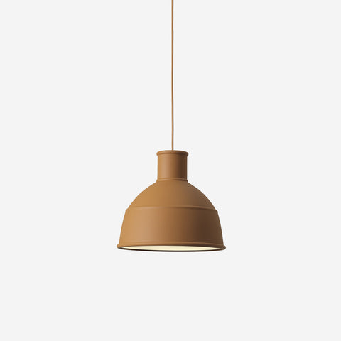 SIMPLE FORM. - Muuto - Unfold Pendant Clay Brown by Muuto - Pendant