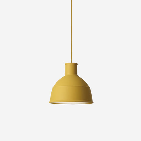 SIMPLE FORM. - Muuto - Unfold Pendant Mustard by Muuto - Pendant