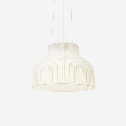 SIMPLE FORM. - Muuto - Strand Pendant Ø60cm Open by Muuto - Pendant