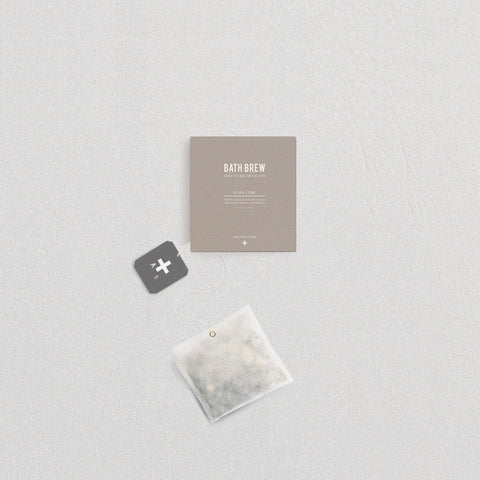 SIMPLE FORM. - Addition Studio - Bath Brew Riverstone - Bath Soak