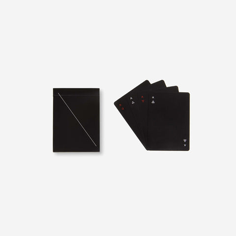SIMPLE FORM. - Areaware - Minim Playing Cards Black - Playing Cards