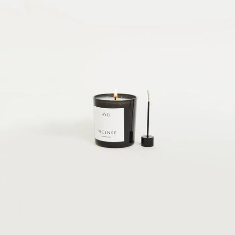 Ayu - Incense Candle - Candle  SIMPLE FORM.