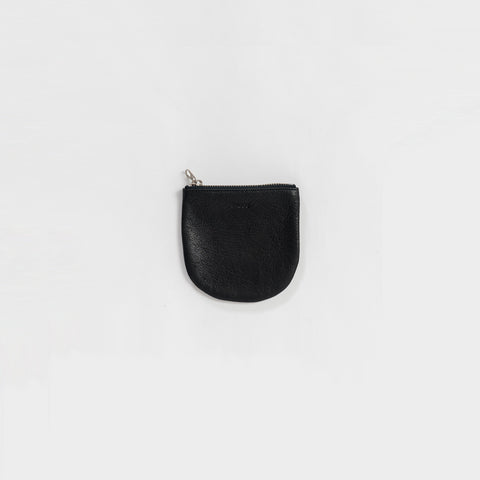 SIMPLE FORM. - Baggu - Black Leather Small U Pouch - Bag