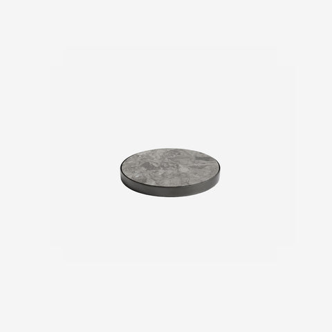 SIMPLE FORM. - Behr and Co - Black Nickel & Grey Tundra Geo Coasters - Coasters