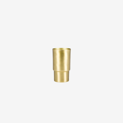 Behr and Co - Brass Century Mini Vessel - Vessel  SIMPLE FORM.