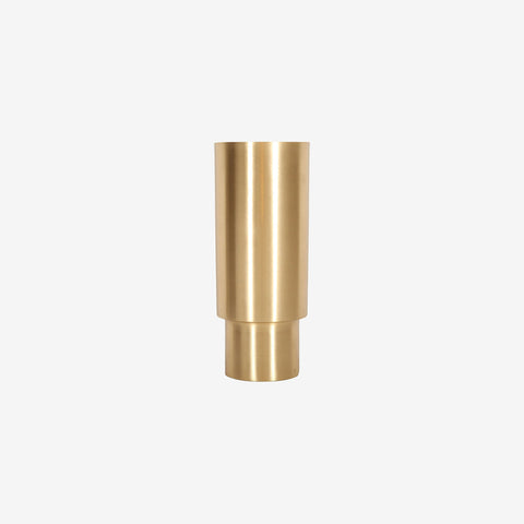 SIMPLE FORM. - Behr and Co - Brass Century Vessel - Vessel