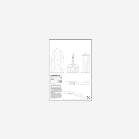 Block Stdo - Block Studio City Icons of Copenhagen Print - Art Prints  SIMPLE FORM.