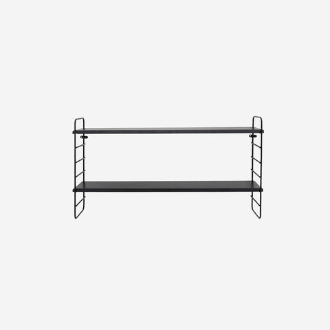 SIMPLE FORM. - Bloomingville - North Shelf Black - Shelf