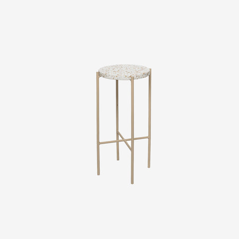 SIMPLE FORM. - Bloomingville - Terrazzo Side Table - Side Table