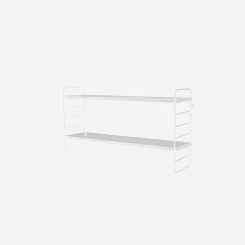 SIMPLE FORM. - Bloomingville - North Shelf White - Shelf