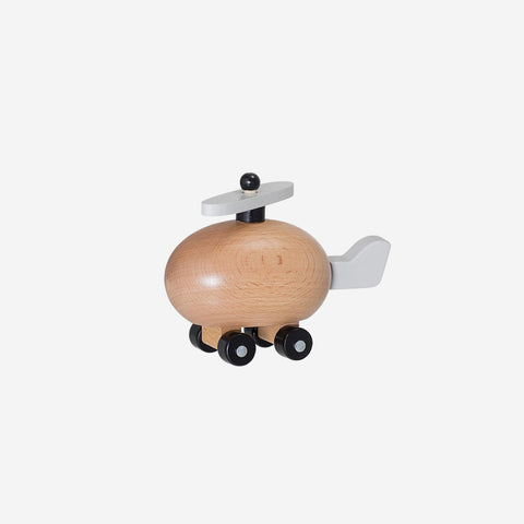 Bloomingville - Wooden Toy Helicopter - Wooden Toys  SIMPLE FORM.
