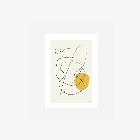By Garmi - Ng #03 Print - Art Print  SIMPLE FORM.