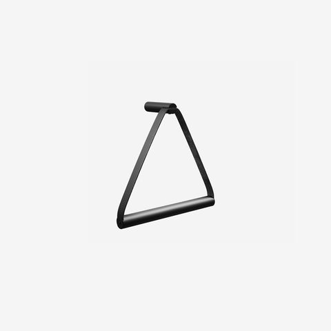 SIMPLE FORM. - By Wirth - Black Metal Towel Hanger - Towel Hanger
