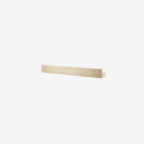 SIMPLE FORM. - By Wirth - Magnetic Shelf Oak 40cm - Shelf
