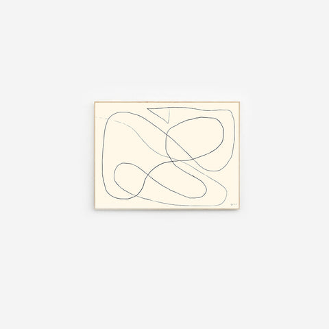 Byc Design Studio - Figure 02 Print - Art Print  SIMPLE FORM.
