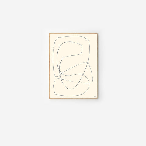 Byc Design Studio - Figure 04 Print - Art Print  SIMPLE FORM.