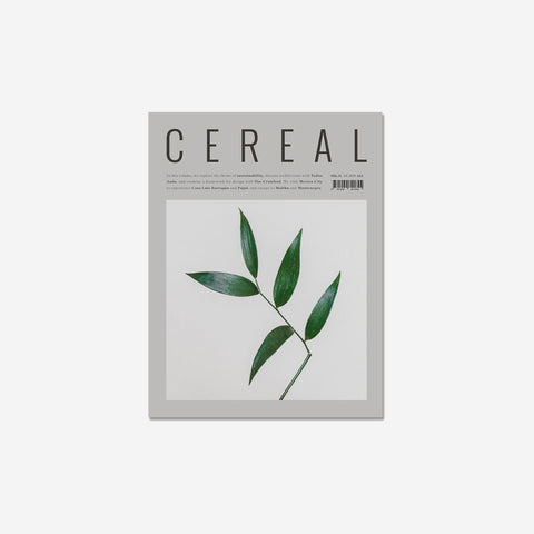Cereal - Cereal Volume 15 - Magazine  SIMPLE FORM.