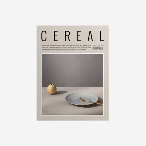 SIMPLE FORM. - Cereal - Cereal Volume 17 - Magazine
