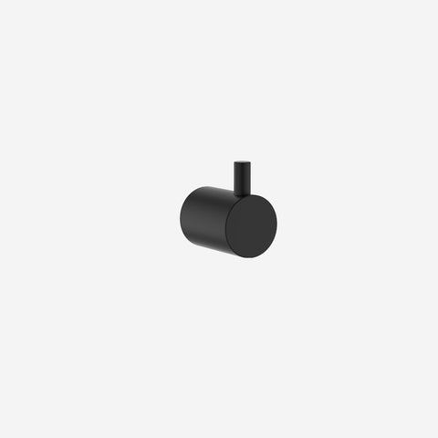 SIMPLE FORM. - Clark - Black Robe Hook - Bathroom Accessories