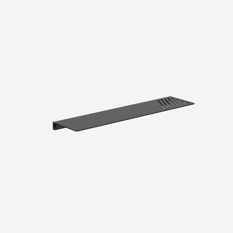 SIMPLE FORM. - Clark - Black Square Metal Shelf - Bathroom Accessories