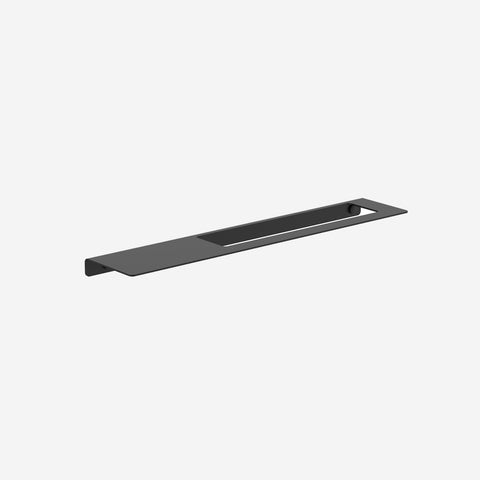 SIMPLE FORM. - Clark - Black Square Metal Hand Towel Rail - Bathroom Accessories