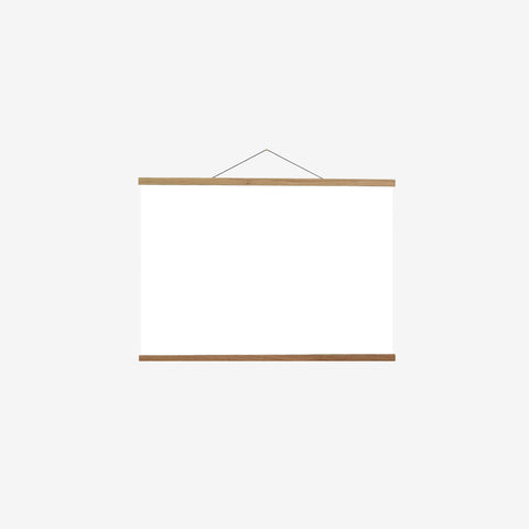 SIMPLE FORM. - Creamore Home - Oak Poster Hanger L - Hanger