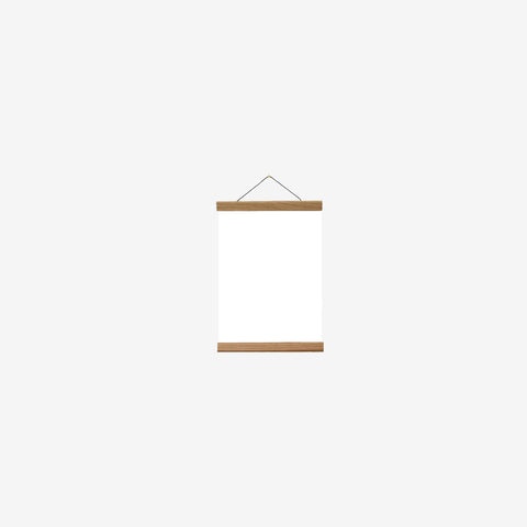 SIMPLE FORM. - Creamore Home - Oak Poster Hanger XS - Hanger
