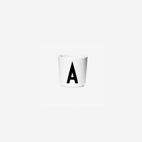 SIMPLE FORM. - Design Letters - Alphabet Melamine Cup A - Children's Tableware