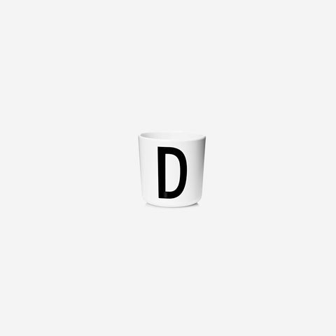 SIMPLE FORM. - Design Letters - Alphabet Melamine Cup D - Children's Tableware